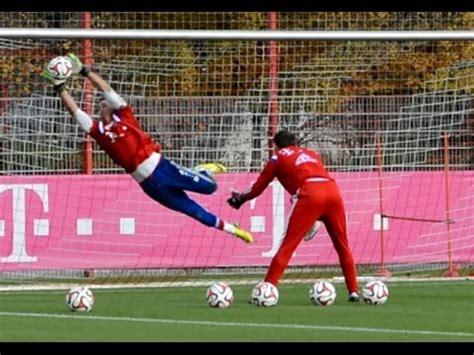 Heinz Müller   High Diving Saves   Goalkeeper Training FC ...