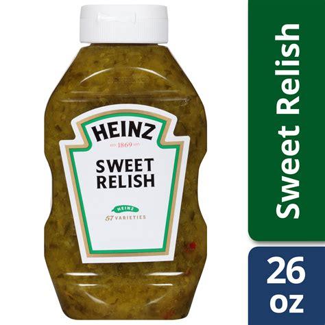Heinz Sweet Relish, 26 fl oz Bottle