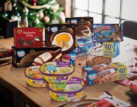Helados Nestlé presenta sus novedades para estas navidades ...