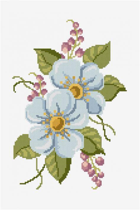 Hellebore   pattern   Free Cross Stitch Patterns   DMC