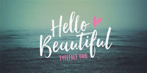 Hello Beautiful Font | Fontspring