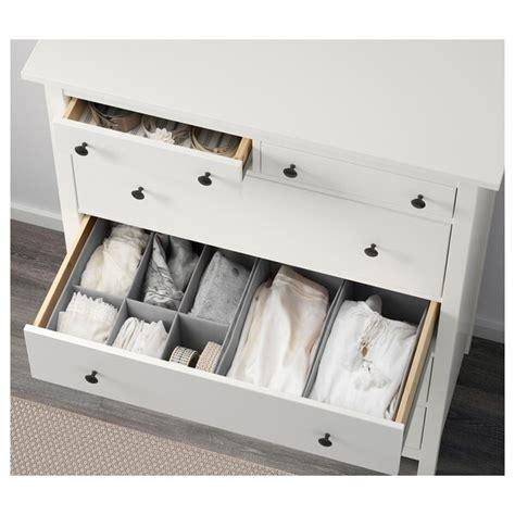 HEMNES 6 drawer chest, white, 42 1/2x51 5/8    IKEA