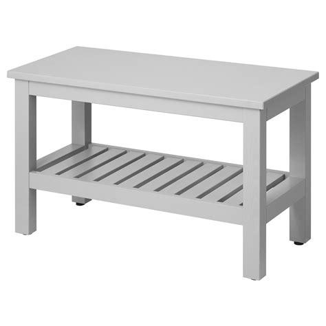 HEMNES Banco, gris, 83 cm   IKEA