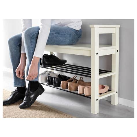 HEMNES Banco zapatero, blanco, 85x32 cm   IKEA