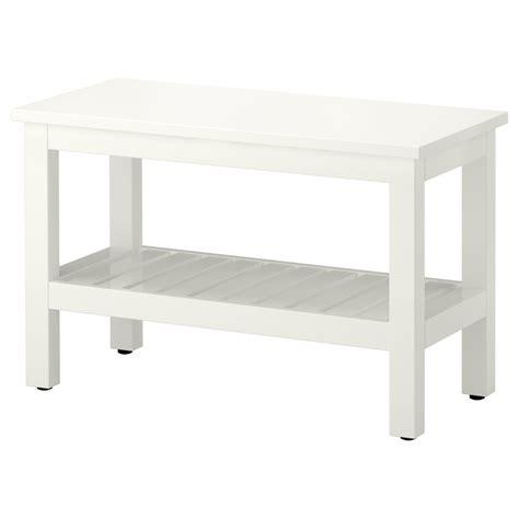 HEMNES Bench, white, 32 5/8    IKEA
