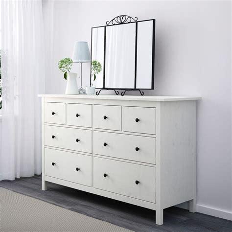 HEMNES Cómoda de 8 cajones, tinte blanco, 160x95 cm   IKEA