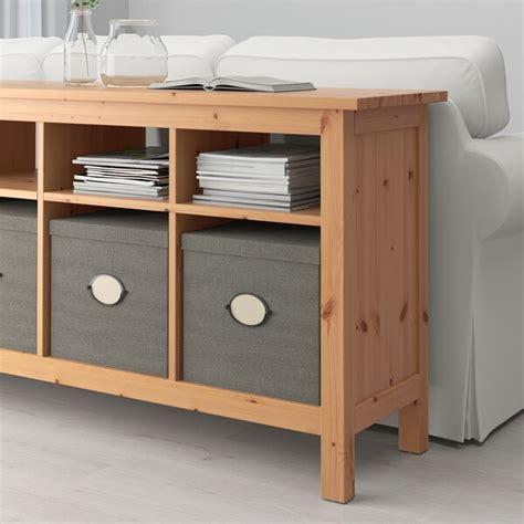HEMNES Consola   castanho claro   IKEA