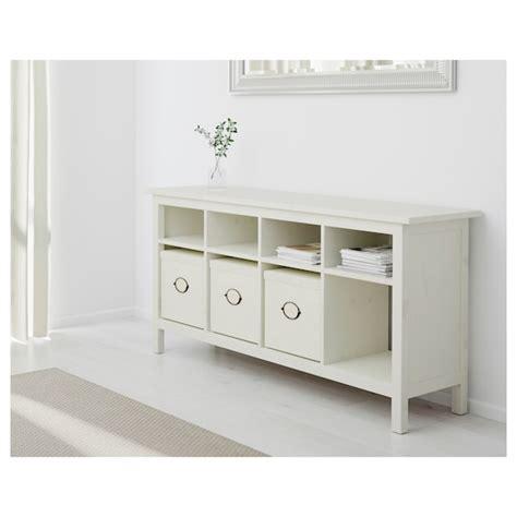 HEMNES Consola, tinte blanco, 157x40 cm   IKEA