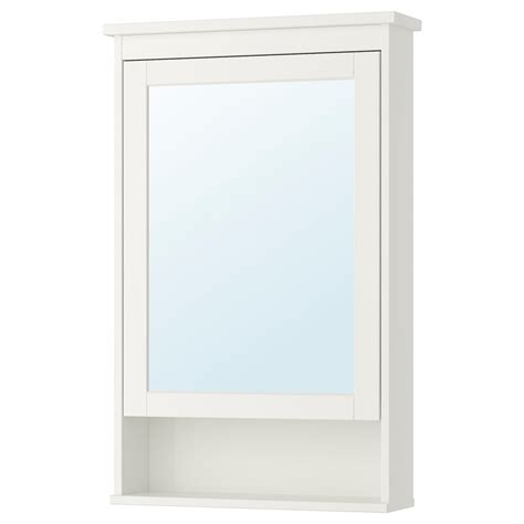 HEMNES Meuble à miroir 1 porte, blanc, 63x16x98 cm   IKEA