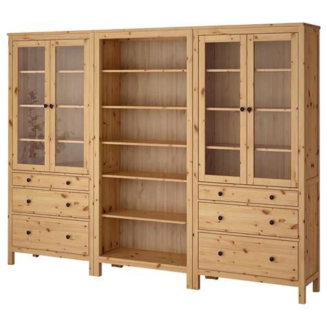 HEMNES Mueble salón, marrón claro, 270x197 cm   IKEA