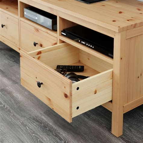 HEMNES Mueble TV   marrón claro   IKEA