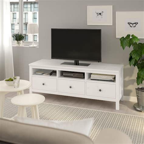 HEMNES Mueble TV, tinte blanco, 148x47x57 cm   IKEA