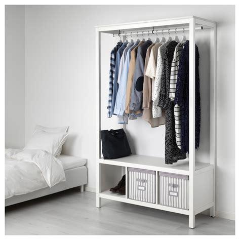 HEMNES   open wardrobe, white stained   IKEA Hong Kong