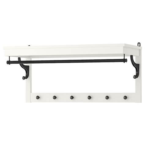 HEMNES Perchero/estante   blanco   IKEA