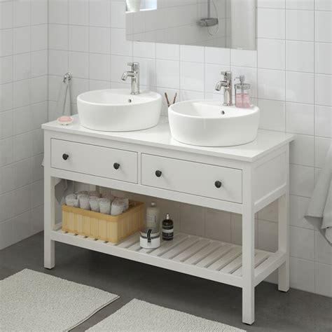 HEMNES / TÖRNVIKEN Mueble abierto/lavabo 45   blanco ...