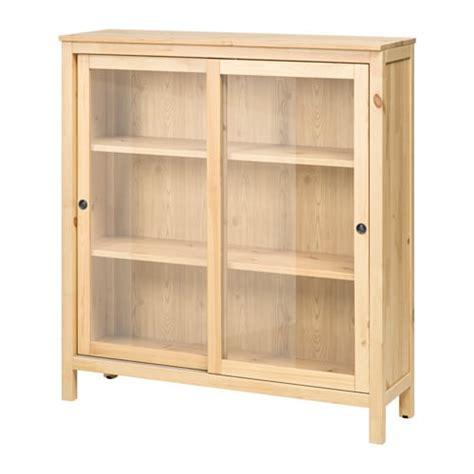 HEMNES Vetrina   marrone chiaro   IKEA