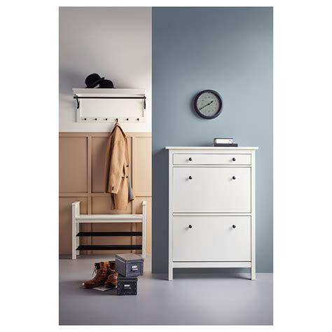 HEMNES Zapatero 2, blanco, 89x127 cm   IKEA
