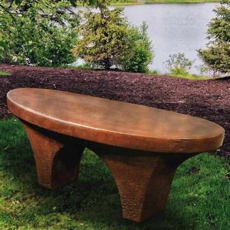 Henri Studio River Stone Garden Bench   Wayfair
