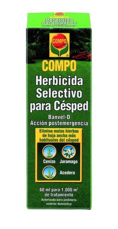 Herbicida selectivo Césped 60ml Compo — Jardinitis.com