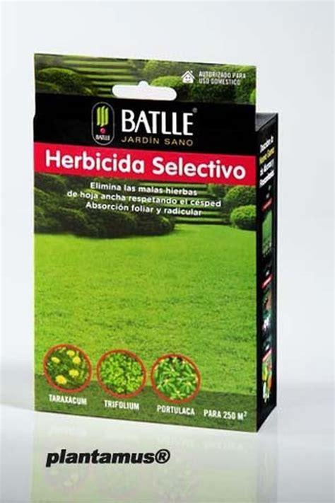 Herbicida selectivo para eliminar hierbas de hoja ancha ...
