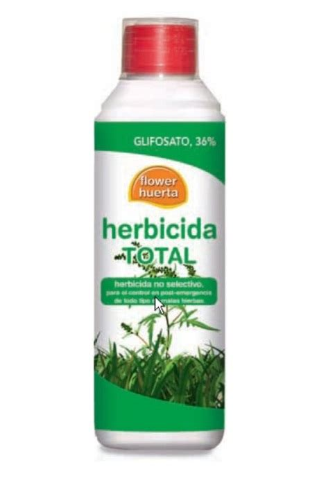 Herbicida Total Glisofato 36 % de Flower 0,5 l   Multimascota