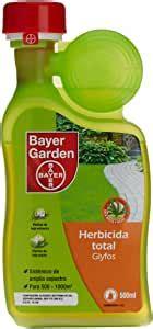 Herbicida Total Glyfos 500ml: Amazon.es: Jardín