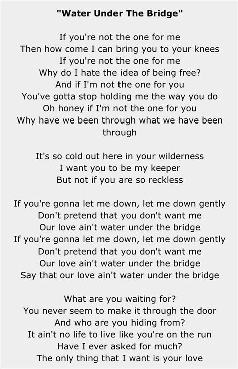 Here are the Adele Songs You Love Most water under the ...