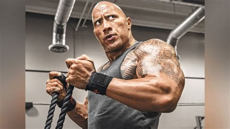 Here s How Dwayne  The Rock  Johnson Warms Up for Leg Day