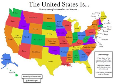 Here s how Google auto complete describes all 50 states ...