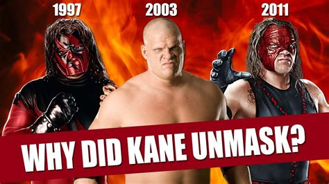 Here s Why Kane Unmasked in 2003   YouTube