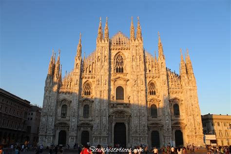 Heridas de guerra en el Duomo de Milán   SITIOS HISTÓRICOS