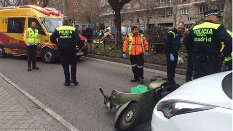 Herido grave un motorista tras chocar con un taxi ...