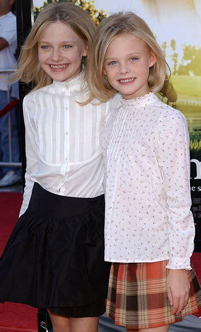 Hermanas con estilo: Dakota y Elle Fanning   Foto