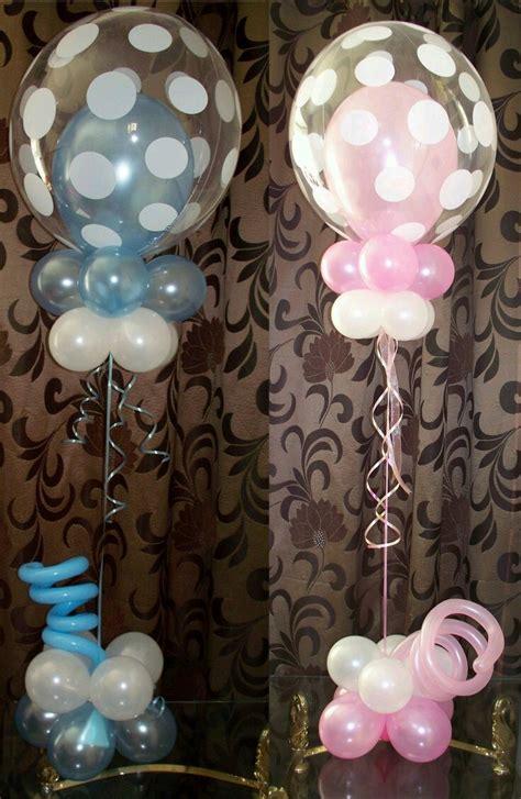Hermosas decoraciones con globos transparentes