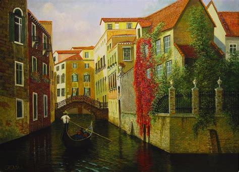Hermosas pinturas de paisajes, obras de arte.   Imágenes ...
