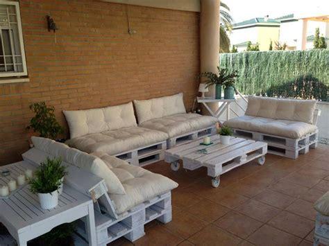 hermoso y amplio juego de sillones para tu porche oh ...