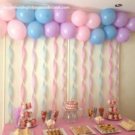 Hermosos adornos de globos para decorar cumpleaños de niña ...