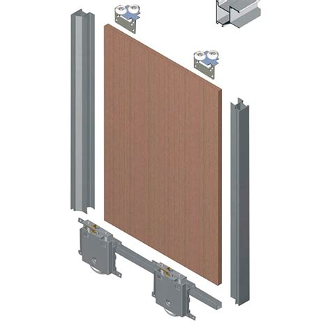 Herrajes para puerta corredera blanco  Longitud: 7 cm ...