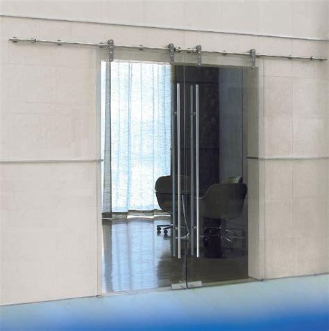 Herrajes para puertas de cristal templado.