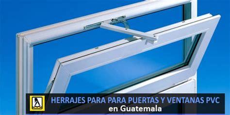 Herrajes para ventanas y puertas de pvc en Guatemala ...