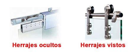 Herrajes puertas correderas cristal – Materiales de ...