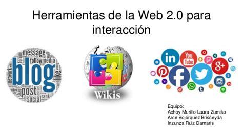 Herramientas de la web 2.0 para trabajo colaborativo