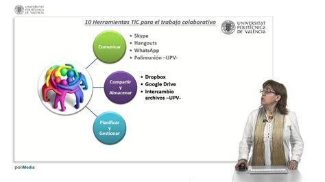 Herramientas TIC para el trabajo colaborativo | | UPV ...