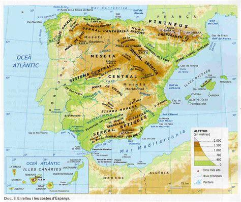 HI HA TRENQUES FERM: RIUS D ESPANYA. Curs 6è Primària