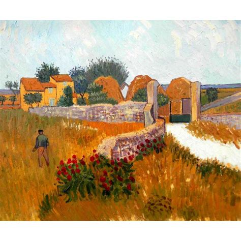 High quality Vincent Van Gogh paintings Farm House in ...