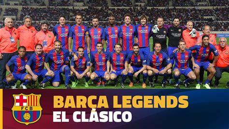 [HIGHLIGHTS] FC Barcelona Legends – Real Madrid Leyendas ...