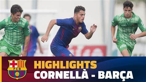 [HIGHLIGHTS] FUTBOL  Juvenil A : UD Cornellà   FC ...