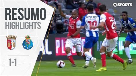 Highlights | Resumo: Braga 1 1 FC Porto  Taça de Portugal ...