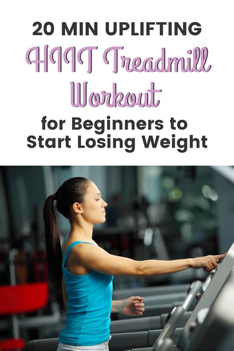 HIIT Treadmill Workout for Beginners for Women Over 40 in ...
