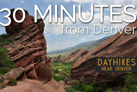 Hikes Just 30 Minutes from Denver, Colorado